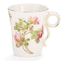 Decal Porcelain Coffee Mug-Royal Rose-Brand New in Box #143600
