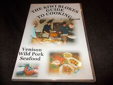 RARE DVD THE KIWI BLOKES GUIDE TO COOKING Venison Wild Pork Seafood LEARN HOW TO