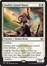 SOULFIRE GRAND MASTER Fate Reforged MTG White Creature — Human Monk Mythic Rare