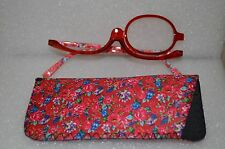 Women Makeup Magnifying Reading Glasses Flip Make-up Eye Glasses +3.5 USA Seller