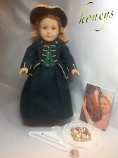 Authentic American Girl FELICITY'S RIDING HABIT and HAT with Many Extras Retired