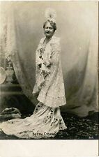 RUSSIA/RUSSIAN ACTRESS/OPERA SINGER BETTY STOYAN & ca 1910s REAL PHOTO POSTCARD