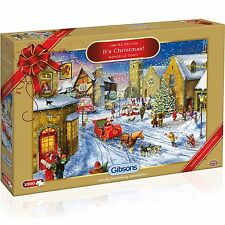 GIBSONS IT'S CHRISTMAS 2015 LIMITED EDITION 1000 PIECE JIGSAW PUZZLE