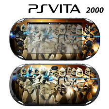 Vinyl Decal Skin Sticker for Sony PS Vita Slim 2000 Star Wars Clone Trooper