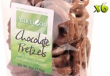 36oz Gourmet Style Bags of Creamy Milk Chocolate Covered Pretzels [2 1/4 lbs.]
