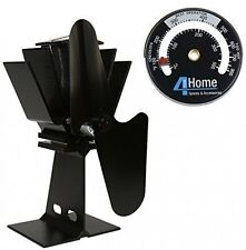 4YourHome Eco Friendly Silent Heat Powered Stove Fan For Wood Log Burners +