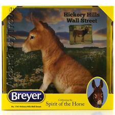 Breyer Traditional Horse - NIB 1761 Hickory Hills Wall Street  Miniature Donkey