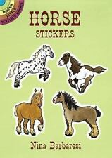 HORSE STICKERS - NEW PAPERBACK BOOK