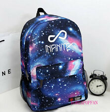 INFINITE SUNGGYU DESTINY BAG BACKPACK SCHOOLBAG BLUE KPOP NEW