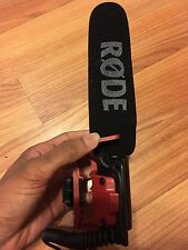Rode Videomic Shotgun Microphone With Rycote Lyre Mount (model: videomicr