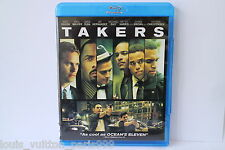 TAKERS BLU RAY disc VIEWED ONCE