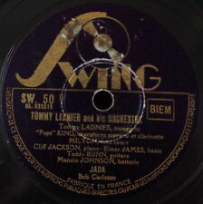 TOMMY LADNIER AND HIS ORCHESTRA JADA FRENCH SHELLAC 78rpm SWING 1938