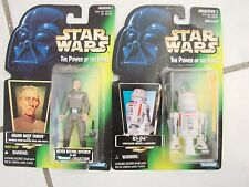 Star Wars Action Figure lot of 2 TPOF Grand Moff Tarkin and R5-D4 new