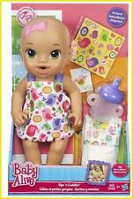 NEW ITEM Hasbro Baby Alive Sips N Cuddles Baby Doll DRINKS & WETS Sip GIFT