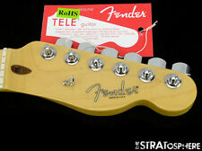 Fender American Standard Offset Telecaster Tele NECK & TUNERS USA Guitar Maple