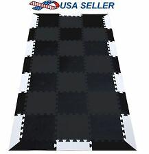 "90""x43"" Protective Gym Mat for Exercise Equipment Workout Fitness Yoga TMBK"