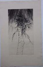 Yannick BALLIF - Gravure eau-forte signée numérotée Brasil 1980