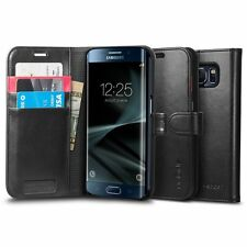 Spigen Galaxy S7 Edge Case Wallet S Black
