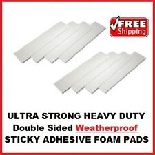 8x Heavy Duty Double Sided Foam Adhesive Sticky Fixing Pads Indoor Outdoor Use