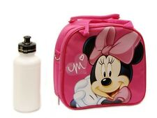 Disney Minnie Mouse Shoulder Strap Lunch Box School Bag *Licensed Product* Blue