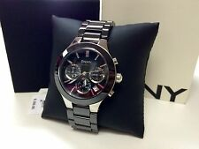 Brand New DKNY Black Ceramic Chronograph Ladie's Watch ORIGINAL NIB $250.00 !!