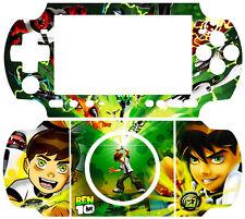 Ben 10 Ten Ben10 SKIN COVER STICKER for SONY PSP 3000