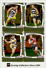 2011 AFL Teamcoach Trading Cards Gold Parallel Team Set Geelong (11)