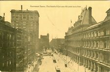 Cincinnati, OH x Government Square, 400 cars pass this point each hour in 1908