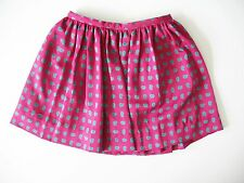 Ralph Lauren Girls Paisley Skirt Pink Multi Sz 5 - NWT