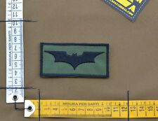 """Ricamata / Embroidered Patch """"Batman"""" OD with VELCRO® brand hook"""