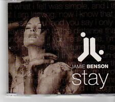 (FM31) Jamie Benson, Stay - 2002 CD