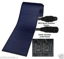 Peel & Stick 136 watt Uni-Solar Laminate Solar Panel Flexible 24v Unisolar