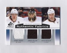 13-14 SP GAME USED COREY PERRY JONAS HILLER GETZLAF JERSEY Authentic Fabrics