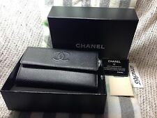 Large Chanel Wallet Beautiful brand new Box black caviar leather flap