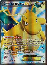 Pokemon Furious Fists Dragonite EX 108/111 FULL ART Rare Holo Card