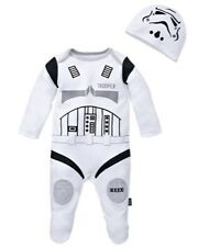 Star Wars Stormtrooper babygrow sleep suit  0-3 Months Romper The Force Awakens