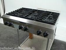 "KITCHEN AID 36"" RANGE STOVE TOP KGCP467JSS06 STAINLESS STEEL 6 BURNERS"