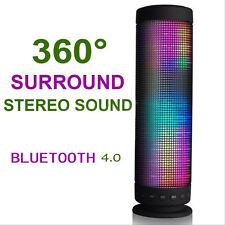 Cool InaRock 10W Portable Wireless LED Bluetooth Speakers with TF Card Speaker