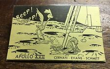 APOLLO 17 ULTRA RARE *BEEP BEEP* UNRELEASED LAUNCH PARTY BADGE IN HOLDER REDUCED