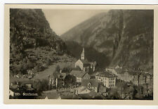 POSTCARD GOSCHENEN, VINTAGE OLD PHOTO RARE NOSTALGIA