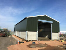 Steel Frame Building 60ft x 40ft x 15ft Www.buildings-uk.com