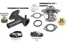 FOR CHRYSLER PT CRUISER 2.0 2.4 2000-  NEW THERMOSTAT + HOUSING + GASKETS KIT