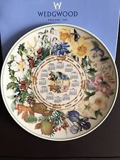 "En Caja Wedgwood 2003 inglés Bone China Daily Mail placa de calendario 8"" (20cm)"