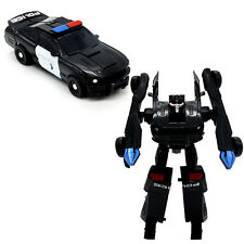 1Pcs MiniFigures Block Robots Toys Kids Educational Gift Police Car Model