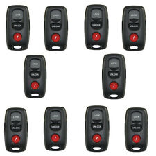 10pc 3B Key Case replacement fit for Mazda 3 6 MPV Protege 5/only shell No Chips