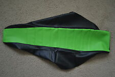 FLU TEAM  KAWASAKI PLEATED GRIPPER SEAT COVER KX125 KX250 1999 2000 2001 2002