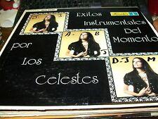 Los Celestes-Exitos Instrumentales Del Momento-LP-Fuentes-Vinyl Record-VG+