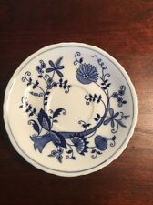 Old Vienna England Fine China Vintage Blue Onion Saucer.