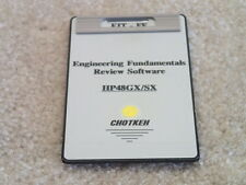 Chotkeh EIT FE Engineering Fundamentals Review Software Card Rare for HP 48GX SX