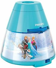 Philips Disney Frozen Childrens Night Light and Projector 1 x 0.1w Integrated